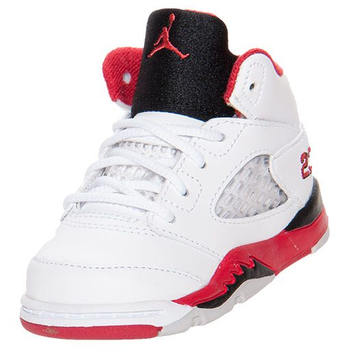 Boys' Toddler Air Jordan Retro 5 Basketball Shoes ( want these for the boys  to wear on Easter? Send sizes 7&10?) | If I had boys.. | Pinterest | Boy  toddler ...