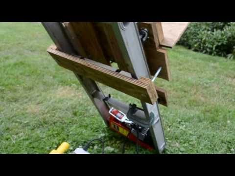 Roofing Shingle Hoist Lift Elevator Youtube Diy Home
