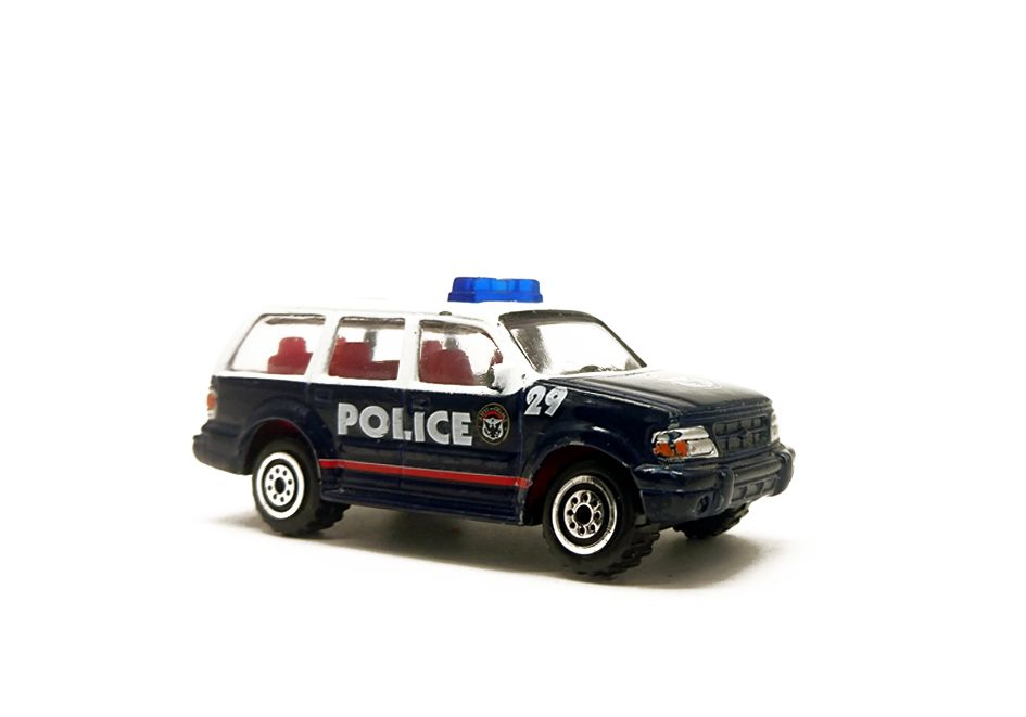 Realtoy ford explorer police