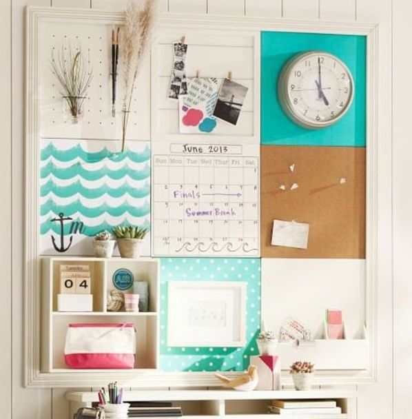 How to decorate a cork board for How to decorate a cork board