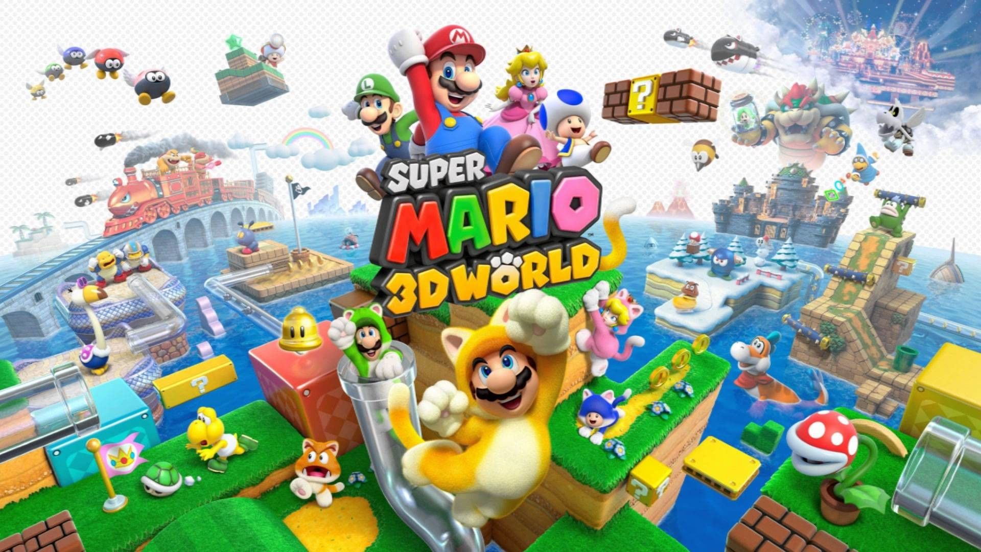 1920x1080 Super Mario 3d World Map Games Pinterest Super Mario