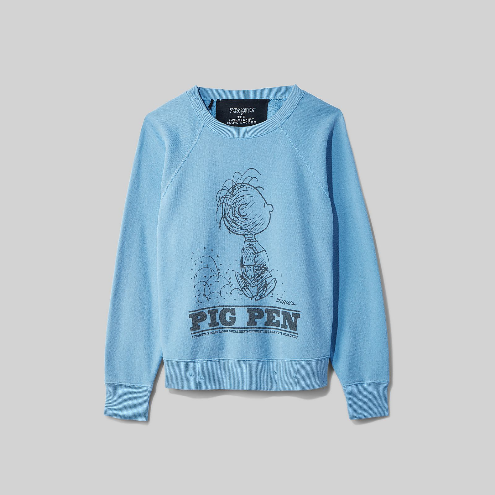 Peanuts X Marc Jacobs The Sweatshirt With Pig Pen Marc Jacobs Sweatshirts Marc Jacobs Jacobs [ 1000 x 1000 Pixel ]