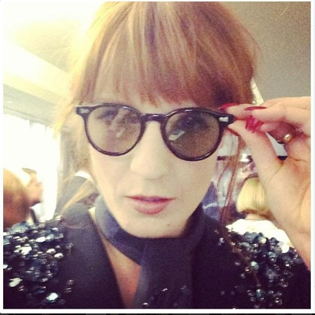 Florence Welch from Florence and the Machine donning INGRI:DAHL at the Great Gatsby 3D premiere @florencewelch #3dglasses #flo #florencewelch #gatsby #gatsby3d #ingridahl