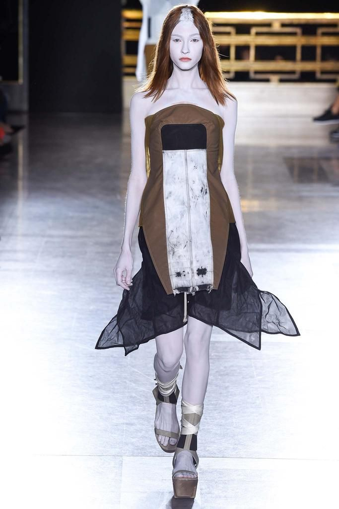 Rick Owens Spring 2015 Ready-to-Wear - Collection - Gallery - Style.com