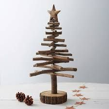 Christmas Tree Made Out Of Twigs Branches Google Search Twig Christmas Tree Wooden Christmas Trees Rustic Christmas
