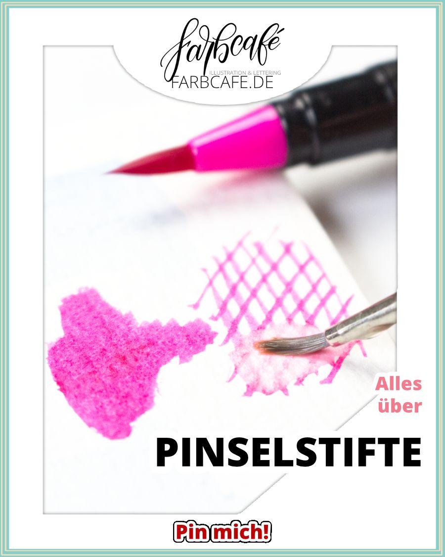 Echte Pinselstifte Kunstler Wissen Tools Aquarell Pinsel