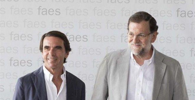 Aznar rompe la relación de su fundación FAES con el PP