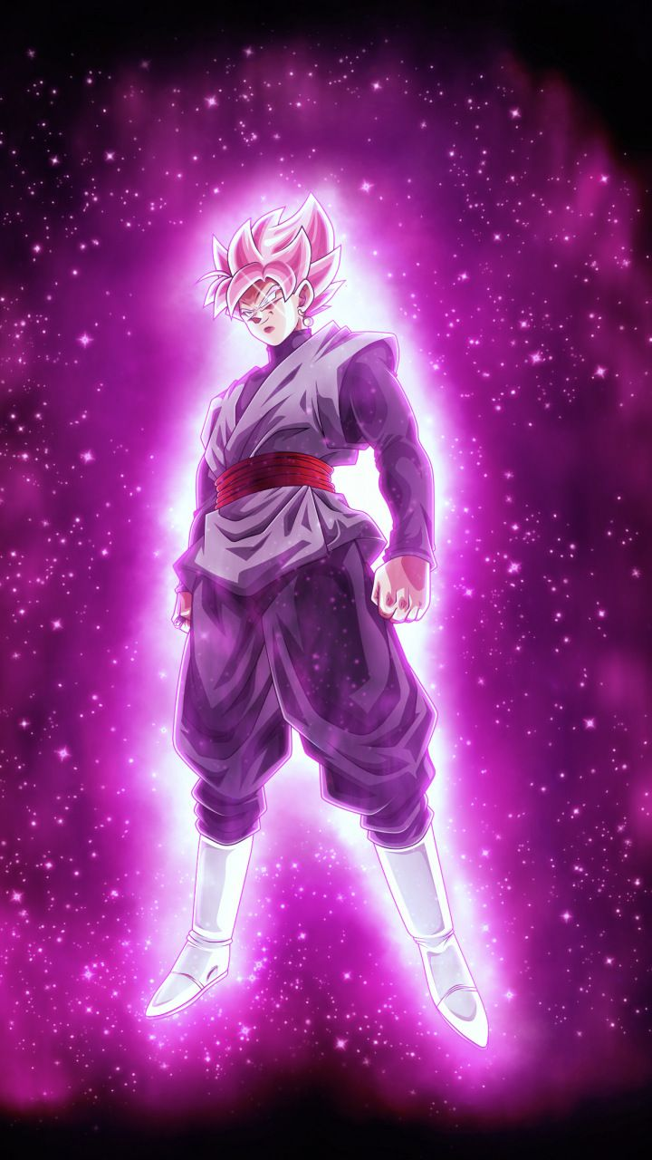 Black goku, ultra instinct, dragon ball super, 720x1280