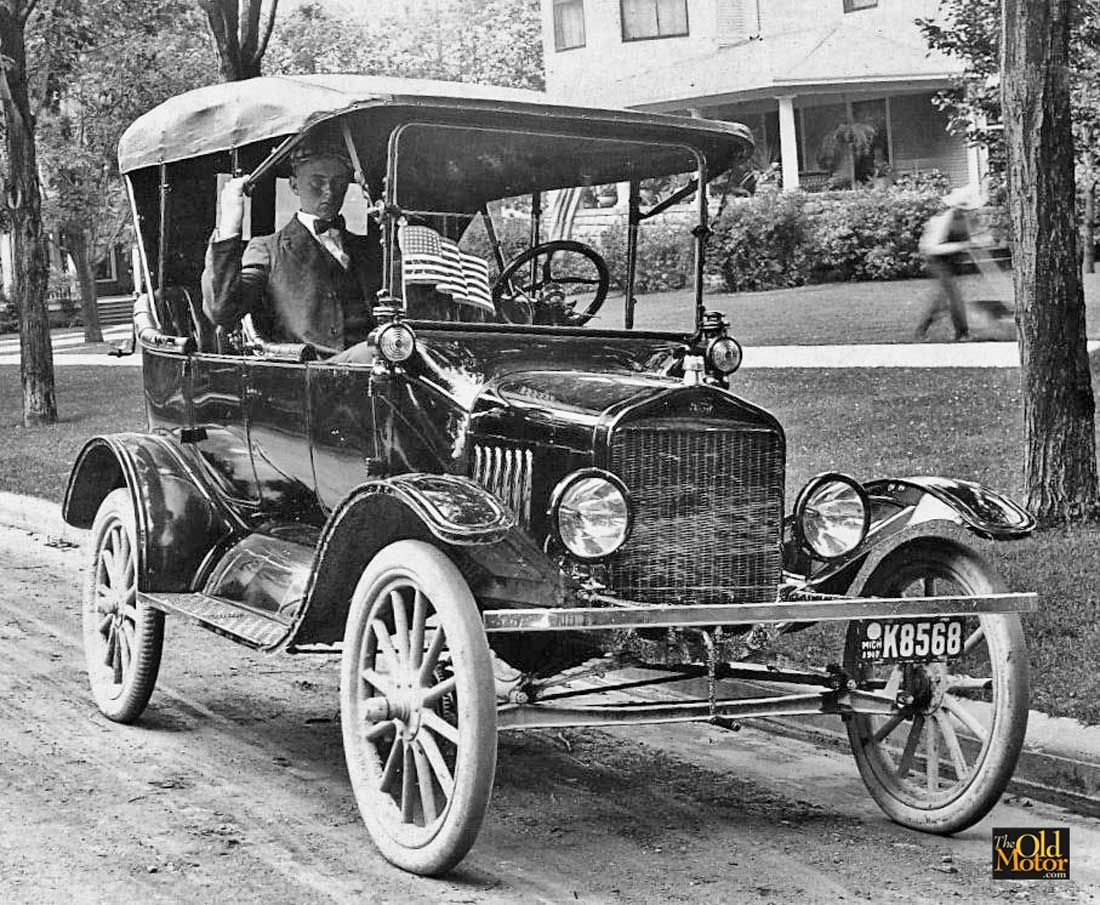 Model T Ford Forum Old Photo Patriotic Model T Ford