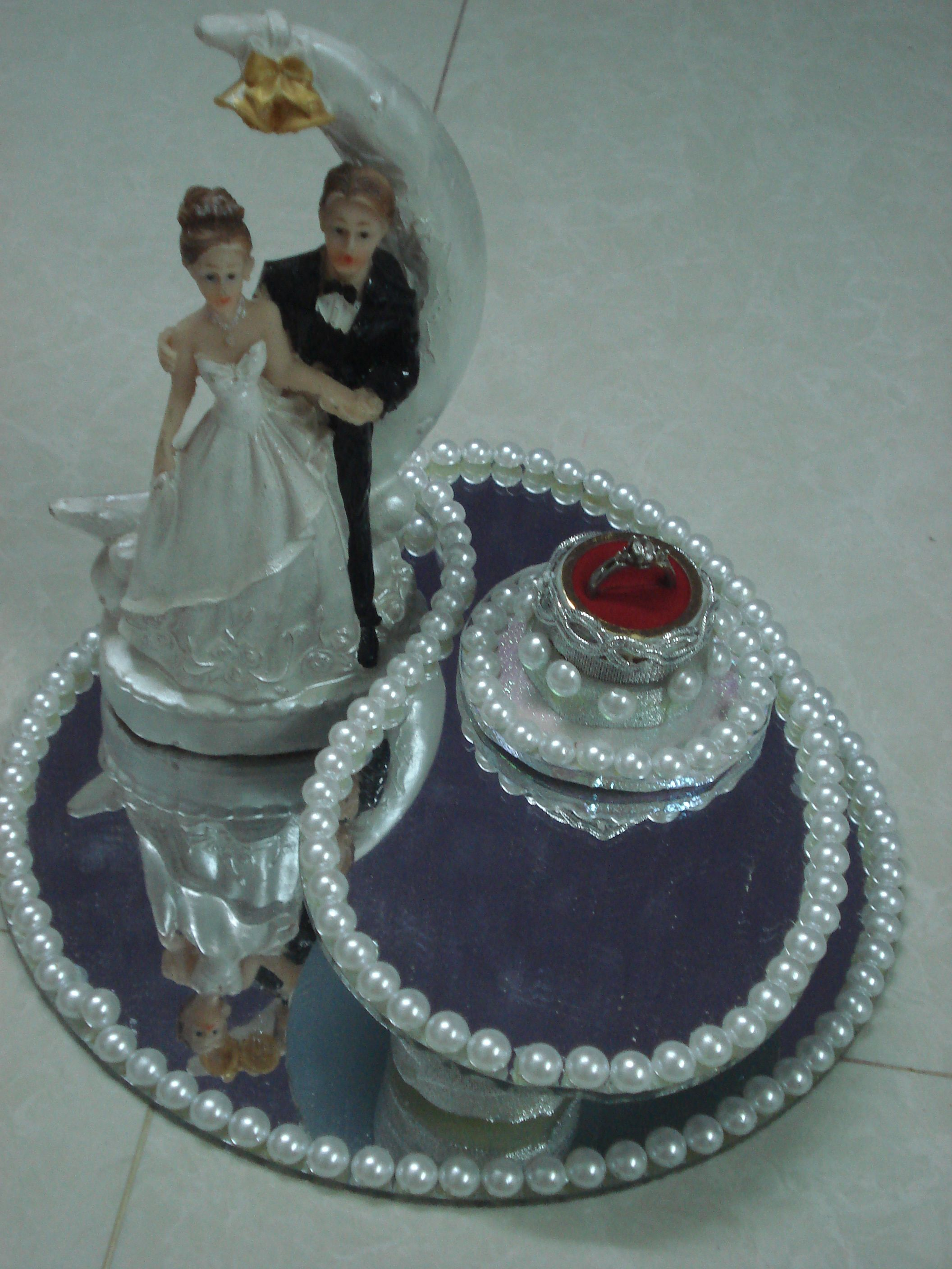 Engagement Tray Decoration Pearl Tray Engagement Tray  Wedding Decorations  Pinterest