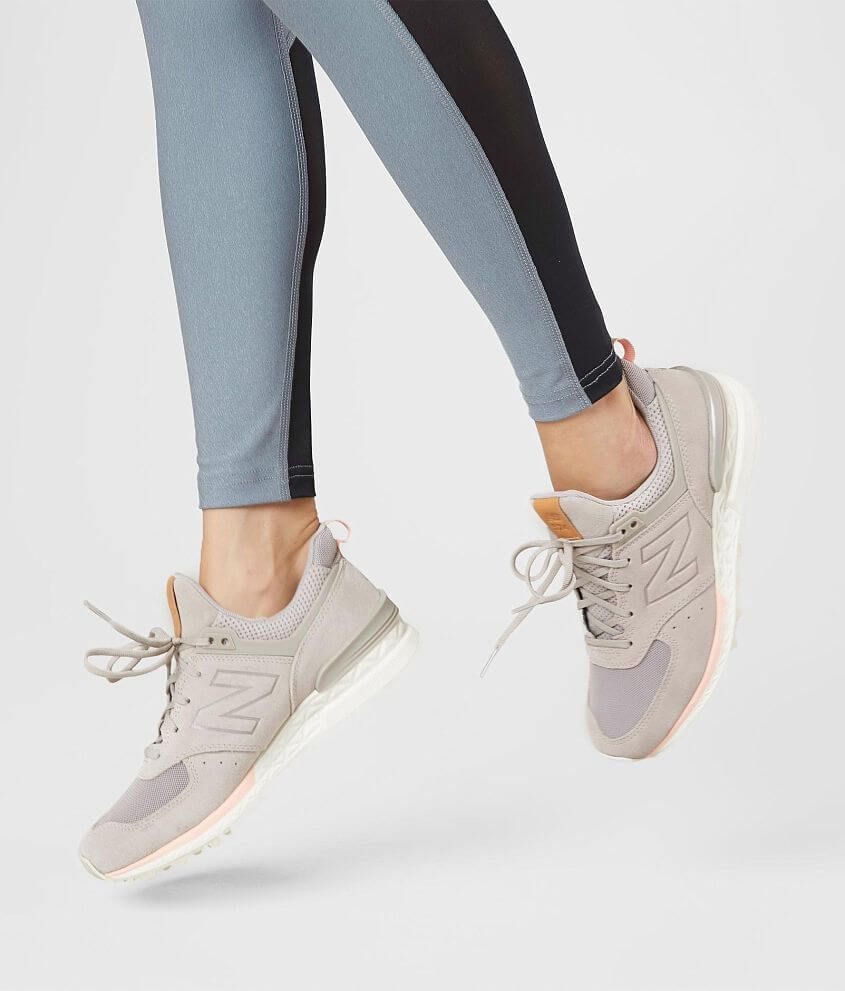 New Balance 574 Sport Shoe - Women's Shoes in Flat White ...
