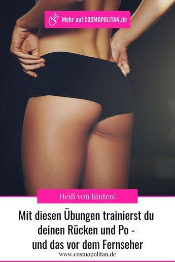 Po- und Rückentraining: Diese Übungen machen euch heiß von hinten #fitnesschallenges