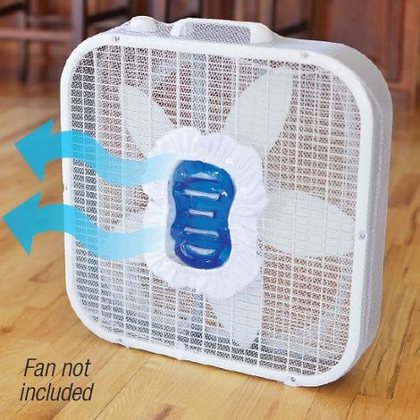 how to make a fan cooler with ice