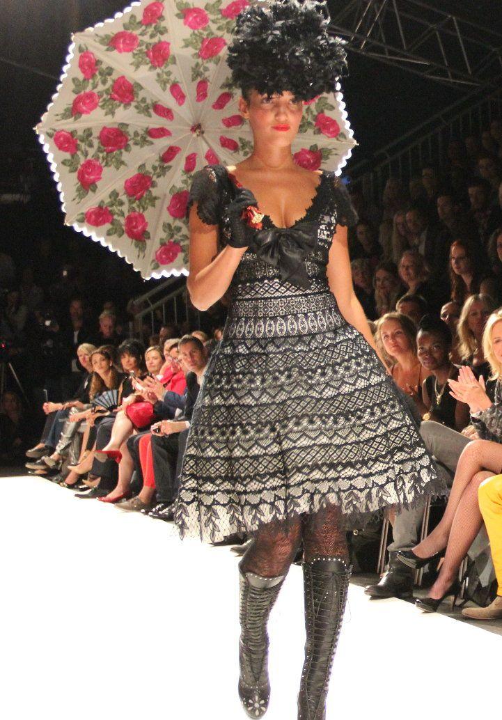 Vienna Fashion Week 2013 moderne Trachtenmode #Tracht #Dirndl