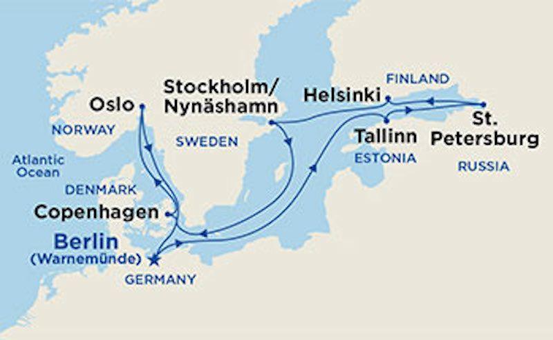 Regal Princess Scandinavia Princess Cruises Princess Cruises Europe Scandinavian Cruises