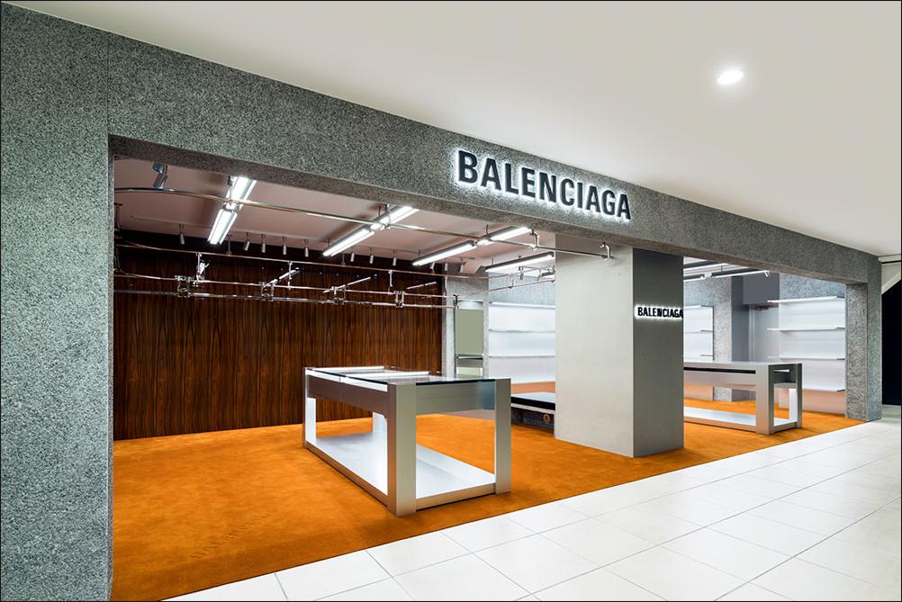 d8a69c5bdd66 Tokyo  Balenciaga shop-in-shop opening – superfuture © Balenciaga ...