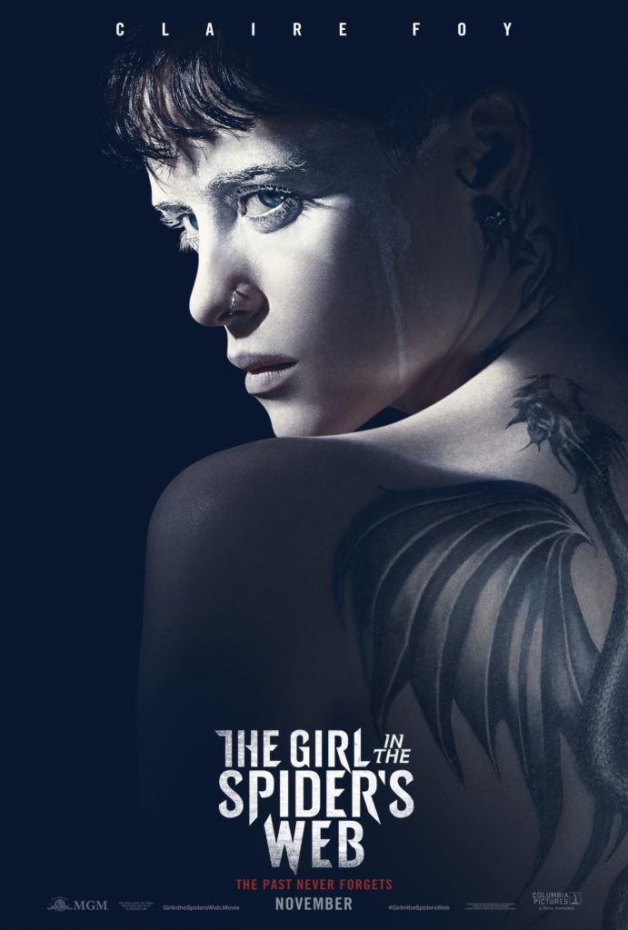 The Girl In The Spider S Web 2018 Movie Poster With Images Web