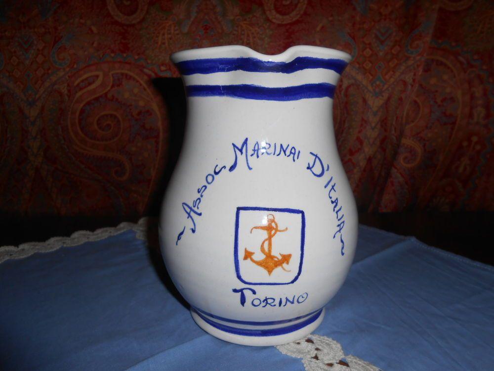 Brocca ceramica associazione marinai d italia ceramiche di albisola