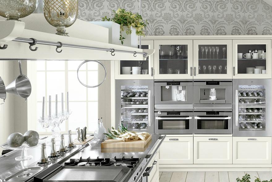 El refinado estilo inglés en la cocina - Cocinas con estilo ...