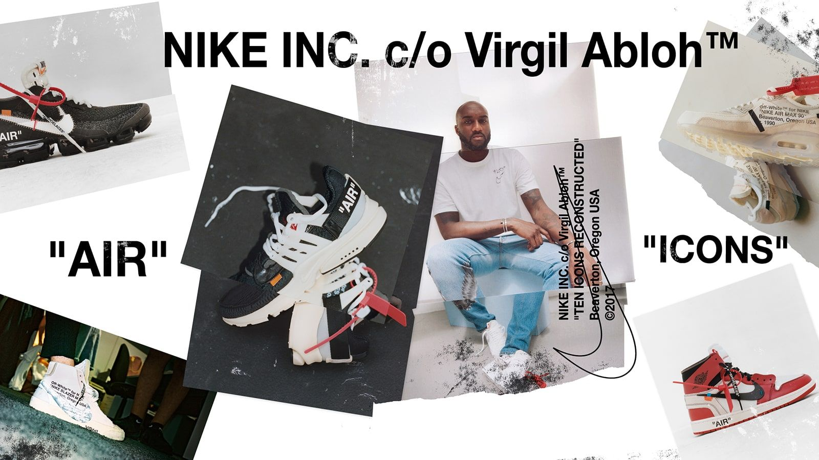 buy popular 0723f c2f4c Nike x Virgil Abloh 'The Ten' | Sports Design | Nike, White nikes ...