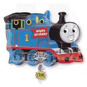 Thomas the Tank Engine Singing Balloon