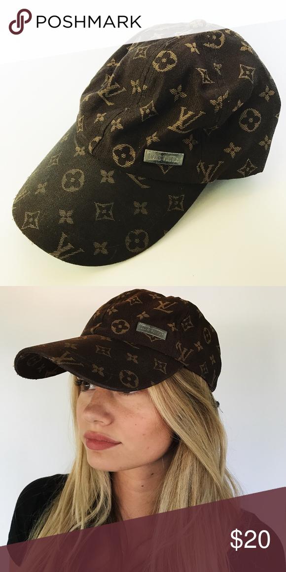 4a60ba36295e5 Louis Vuitton Baseball Cap Lightly worn Louis Vuitton Baseball Cap. Hat was  purchased at a second hand shop. Slight distress on the brim of hat.