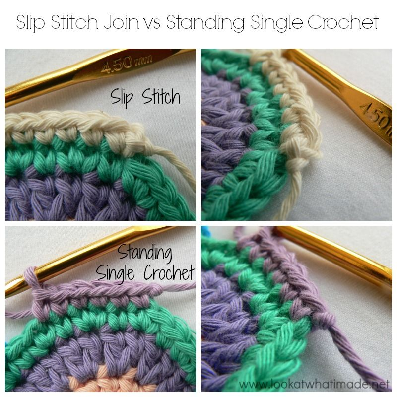 how to join using single crochet