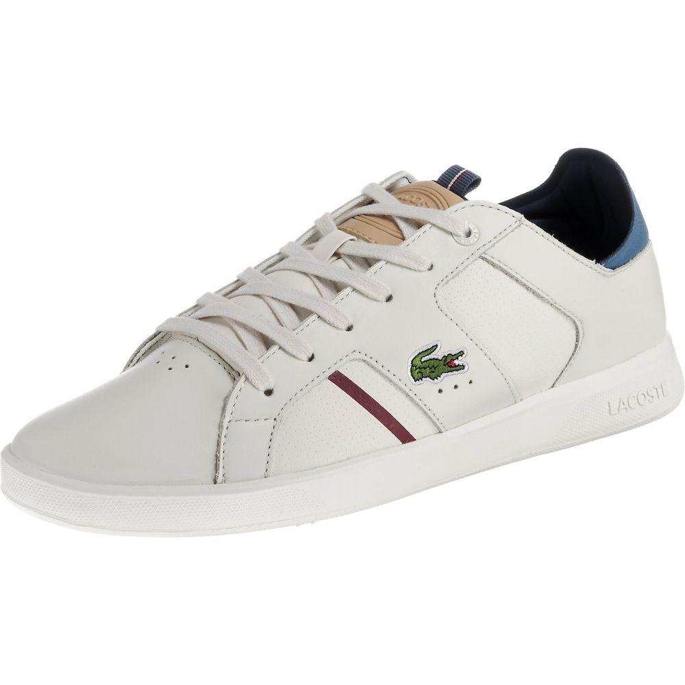 Lacoste Sneakers Novas 418 Herren Blau Weiss Grosse 44 5 Lacoste Sneakers Lacoste Blau