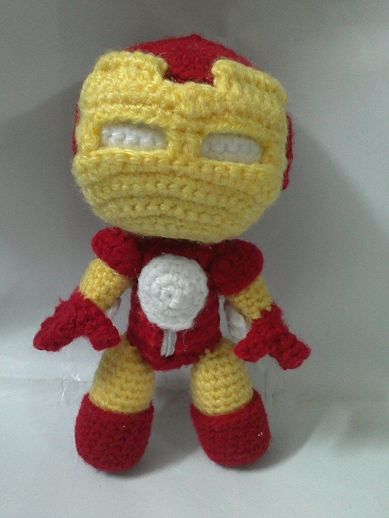 Geek Crafts Iron Man Sackboy By Nvkatherine On Deviantart