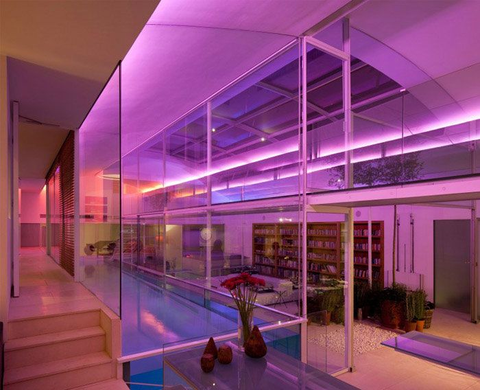 Spectacular Residence With Indoor Glass Pool