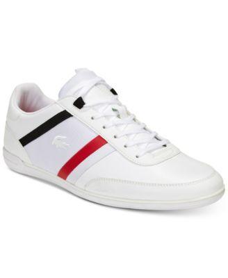 official photos 8de5b d9df7 Lacoste Men s Giron Leather Low-Profile 118 1 Sneakers