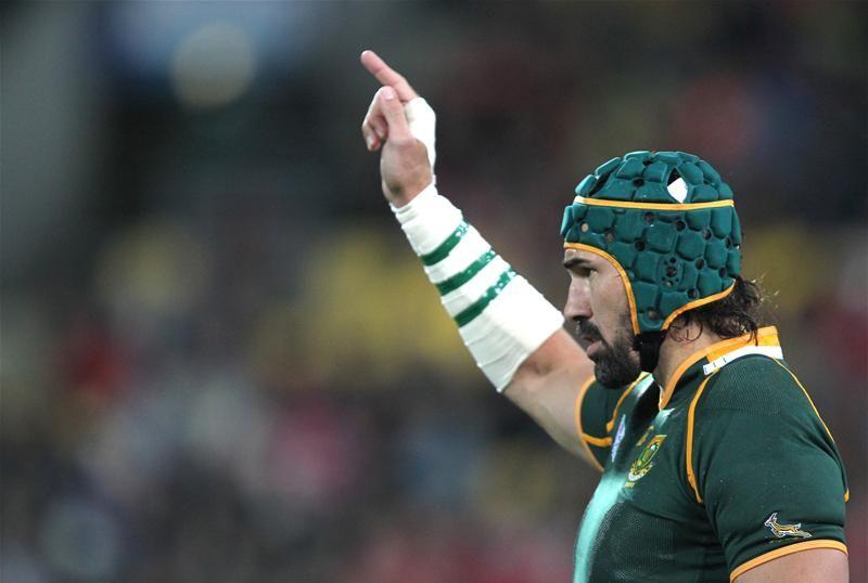 Victor Matfield pensa alla pensione. E mette in guardia gli sportivi - On Rugby