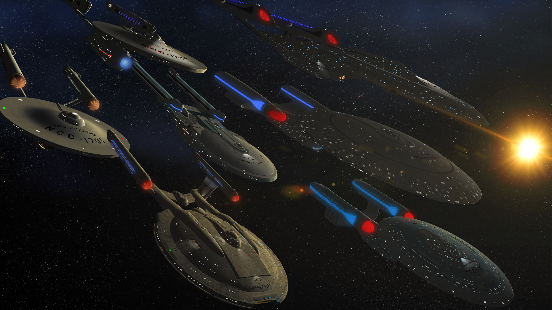 History Will Never Forget... U.S.S. Enterprise NCC-1701 ...