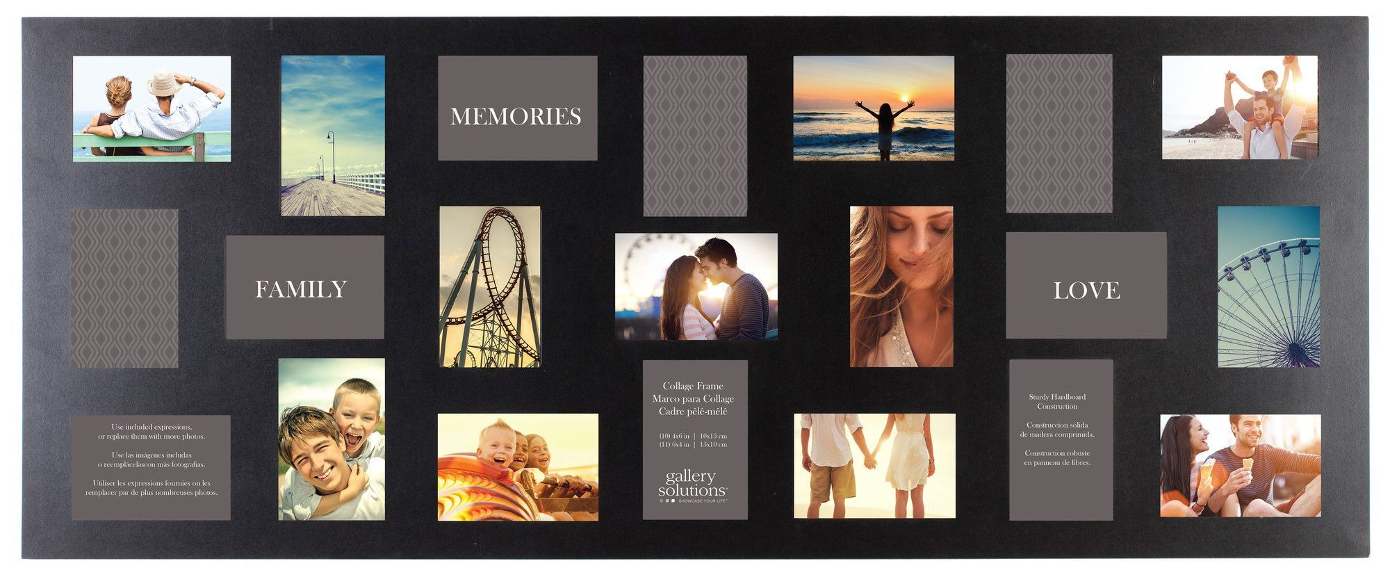 Gallery Solutions 21 Opening Collage Picture Frame | Graduation ...