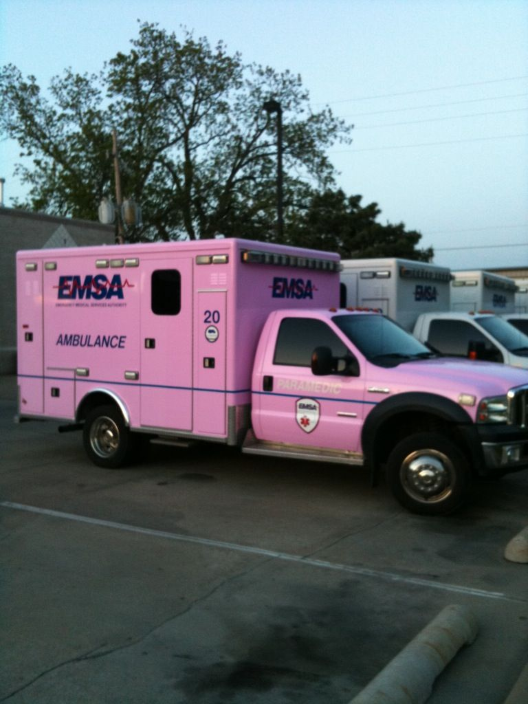 i would definitely be an EMT if this is what i got to drive