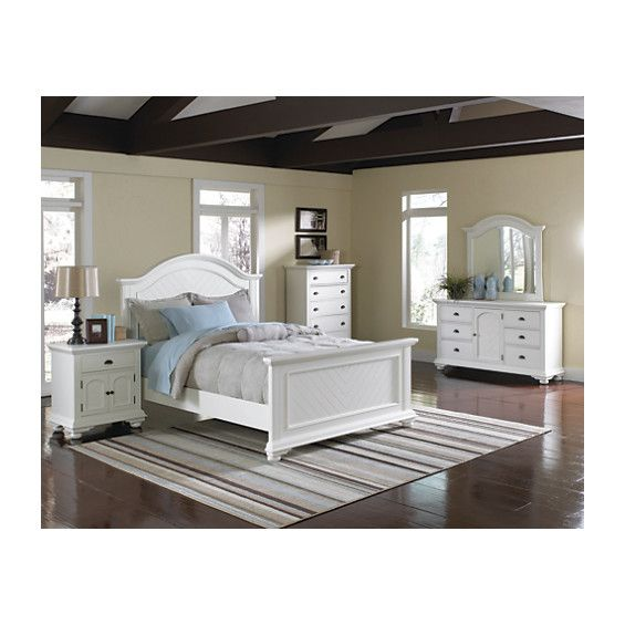 Brook 7-Piece Queen Bedroom Set Off-White Canada online at SHOPCA