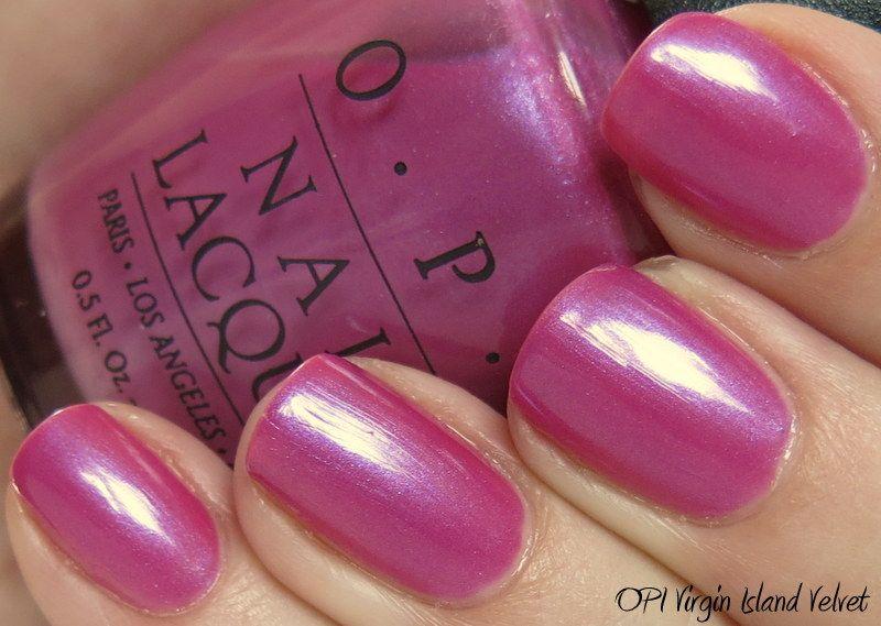 OPI Virgin Island Velvet | OPI Nail Polish | Pinterest | Virgin ...