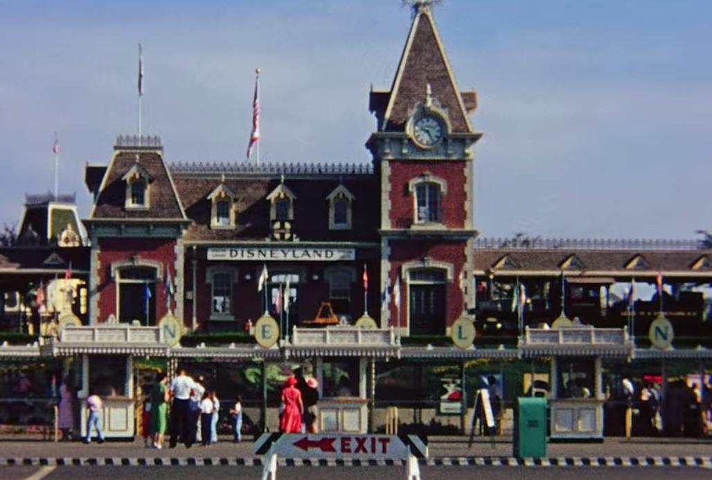 Disneyland back in 1957