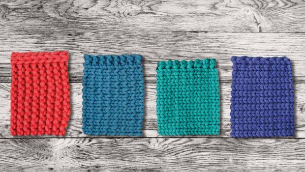 Bords propres avec une variation de bord de chaîne Tout simplement créatif   – Abschlusskanten