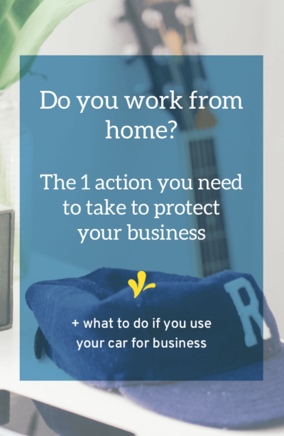 Do You Work From Home How To Protect Your Business Avec Images