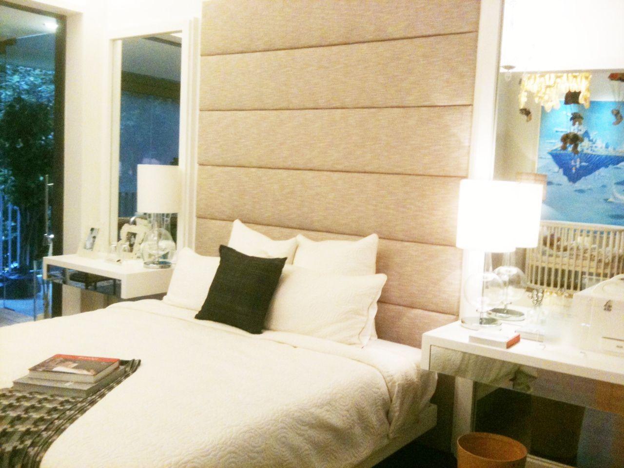 full height headboard | Bedroom ideas | Pinterest | Bedrooms