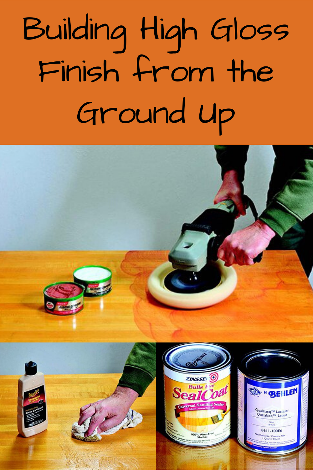 Building High Gloss Finish From The Ground Up In 2020 With Images Woodworking Tips Woodworking Techniques Staining Wood