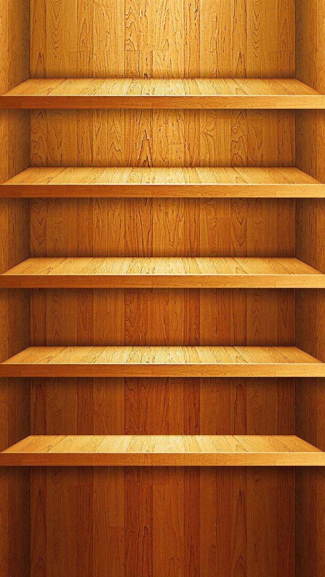 iPhone wallpaper shelf iPhone wallpaper Pinterest