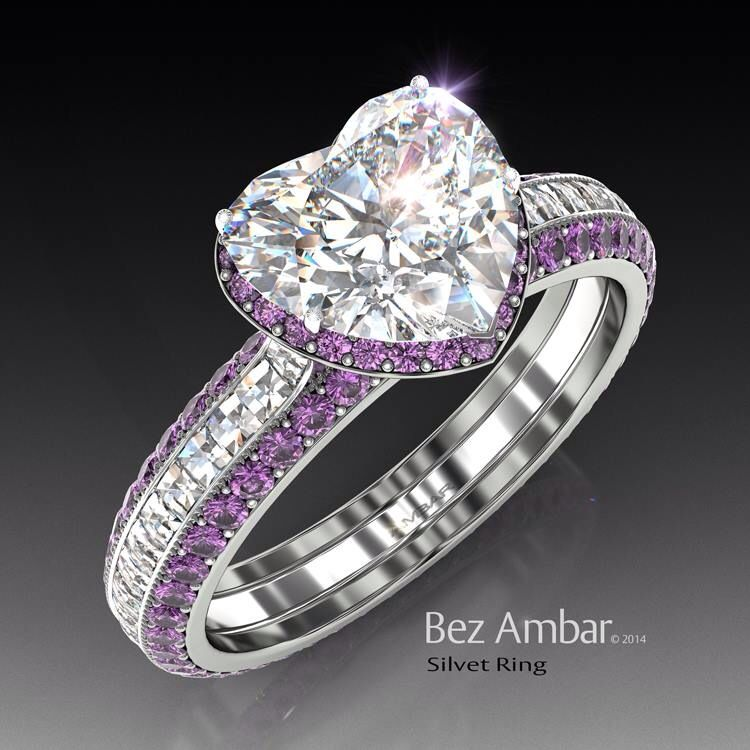 This Ring Would Be Stunningly Perfect If The Amethysts Were