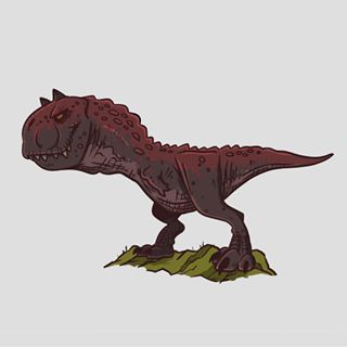 The Carnotaurus. Who'd like to see more of him in JW3? # ...