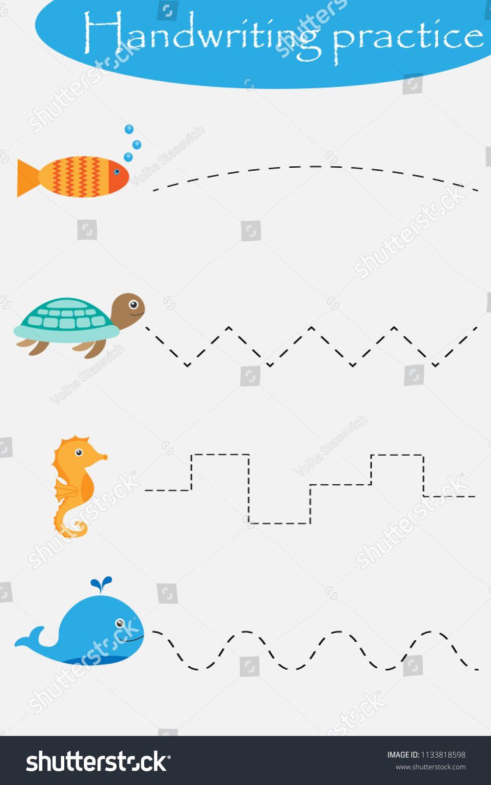 Ocean And Sea Animals Wheel Fish Turtle Seahorse Handwriting Practice Handwriting Practice Sheets Handwriting Practice Worksheets Writing Practice Sheets [ 1600 x 1001 Pixel ]