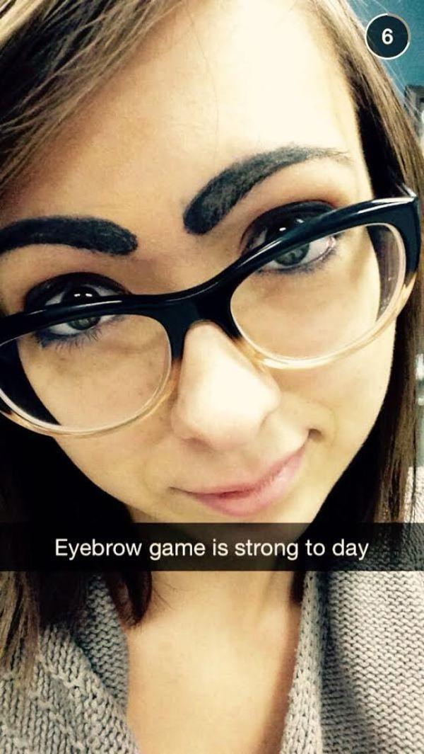 Funny Eyebrow Fails 23 Pics Wtf Pinterest Funny Eyebrows