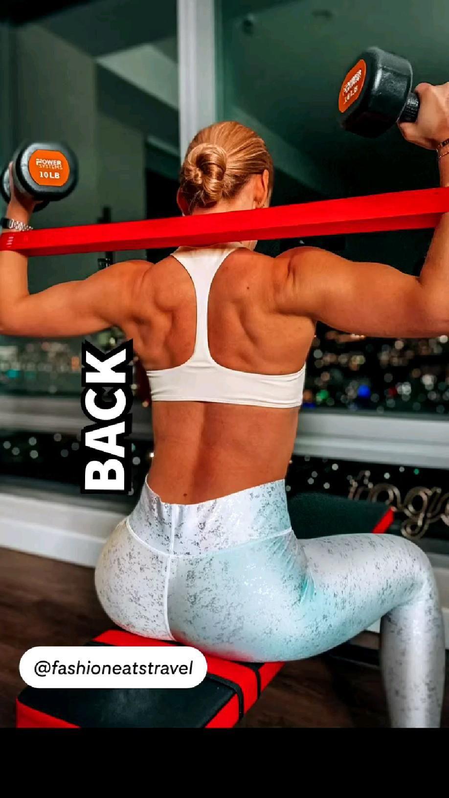 Back Exercises 💪