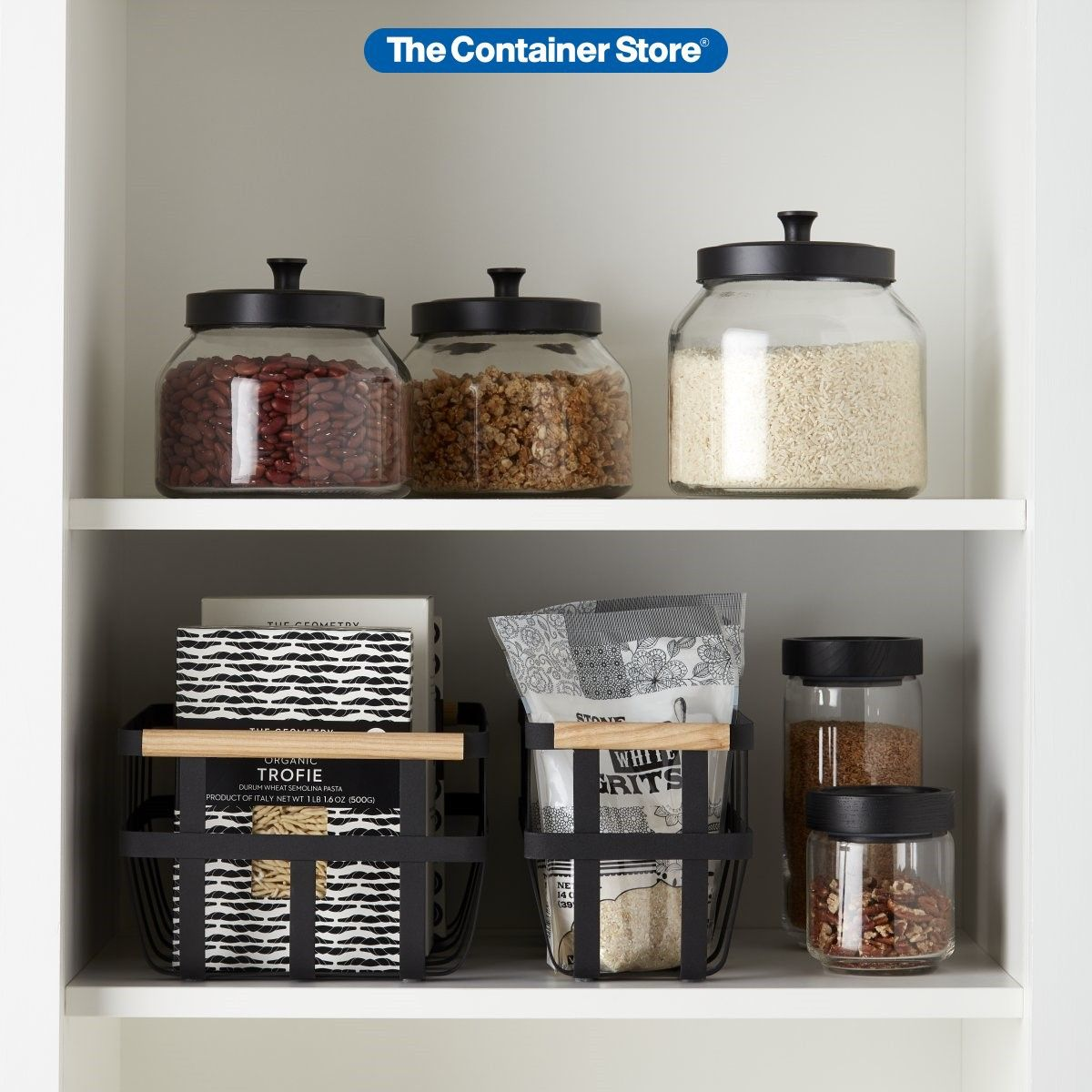 Shop Our Latest Kitchen Storage And Organization Products In Beautiful Matte Black Kitchen Organization Bathroom Organization Diy Kitchen Organization Pantry