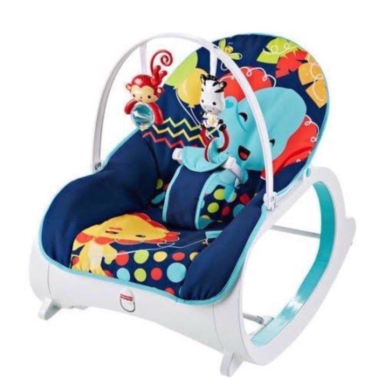 Fisher Price Newborn 2 Toddler Infant Child Chair Bouncer Rocker Midnight Navy Baby Rocker Fisher Price Baby Baby Bouncer
